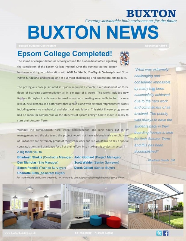 The Buxton Group Welcome